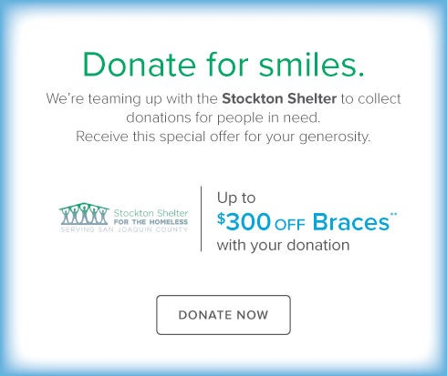 Park West Dental Group and Orthodontics - Stockton Shelter Charity Drive